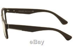 Prada Lunettes Vpr04s Vpr04s Tfd-1o1 Marron / Argent Cerclée Cadre Optique 55mm