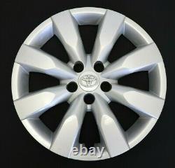 Quatre 16 Toyota Corolla 2014-2016 Oem Hubcaps Wheel Covers Rim Covers 61172