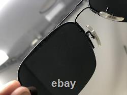 Ray Ban Lunettes De Soleil Rb3482 004/6g 59-15 Italie Gunmetal Half Rim Silver Mirror W23