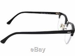 Ray Ban Lunettes Rb 5201 2000 Half Black / Silver Rim Cadre 4922 140