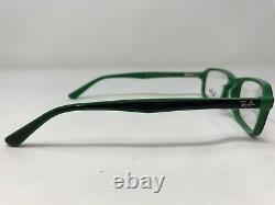 Ray-ban Lunettes Cadre Rb 5321-d 5423 55-17-145 Vert / Noir Full Rim Bx83