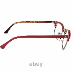 Ray-ban Lunettes Pour Femmes Rb 5154 5651 Red/silver Horn Rim Frame 4921 140