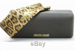 Roberto Cavalli Lunettes De Vue Guadalupa 712 014 Monture Optique Jante Complète Argent 56mm