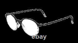 Silhouette Urban Fusion Full Rim 2910 Argent Noir 9000 Lunettes