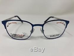 Takumi Tk1099 50 Lunettes Pour Enfants Cadre 44-17-120 Silver / Bleu Cerclée Fk45