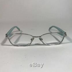 Tiffany & Co. Rim Bleu Noir Argent Key Lock Eyeglass Frames Seulement Tf1061-b 6001