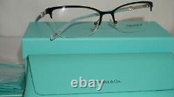 Tiffany & Co. Rx New Lunettes Half Rim Métal Bleu Tf1111b 6097 53 17 140
