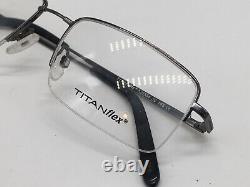 Titanflex Eschenbach 820554 30 Silver Gun Mi-rim High End 54-19 Large