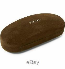 Tom Ford Ft5023 753 Argent / Noir Demi-lunette Rectangulaire Cadres 51-17-135