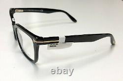 Tom Ford Tf 5304 Noir Brillant 001 Cerclée Silver't ' Logo Eyeglass / Rx Cadre