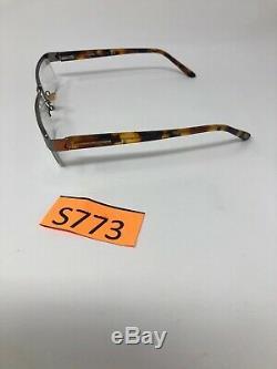 Tom Ford Tf5112 010 Monture De Lunettes Italie Demi Jante 54-17-135 Argent / Tort S773