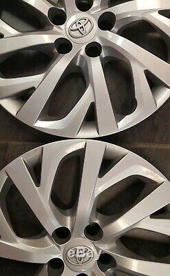 Une Série De Toyota Corolla 2009 2019 Hubcaps Rim Wheel Cover 16 P / N 4260202520