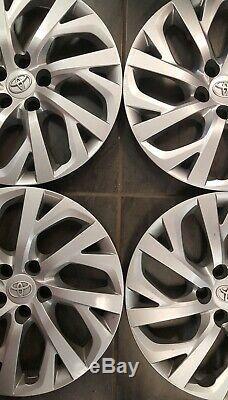 Une Série De Toyota Corolla 2017 2018 Hubcaps Jante De Roue Covers 16 P / N 42602-02520