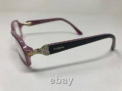 Vogue Vo2789-b 1941 Lunettes De Vue Cadre Pleine Jante 52-16-135 Brown/pink Xl95