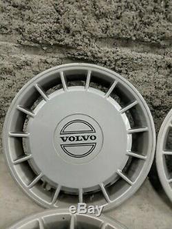 Volvo 240 Centre De Roue Enjoliveur Cap Rim Tire Couverture Hubcap